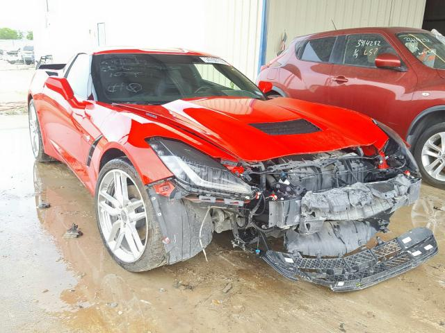 Salvage cars for sale from Copart San Antonio, TX: 2019 Chevrolet Corvette S