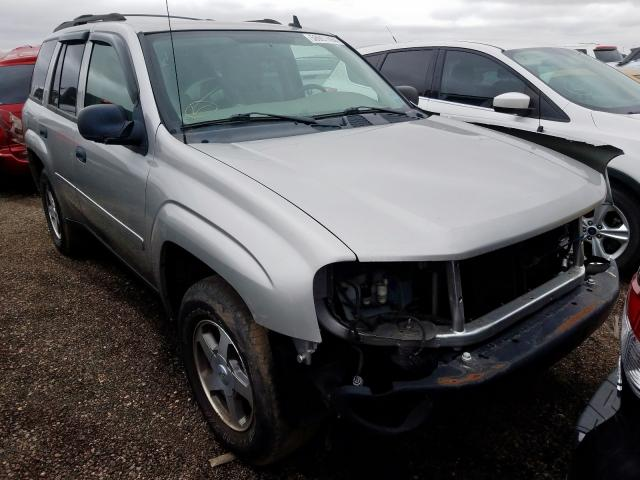 Chevrolet Trailblazer salvage cars for sale: 2006 Chevrolet Trailblazer