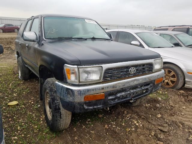 Salvage cars for sale from Copart Houston, TX: 1992 Toyota 4runner VN