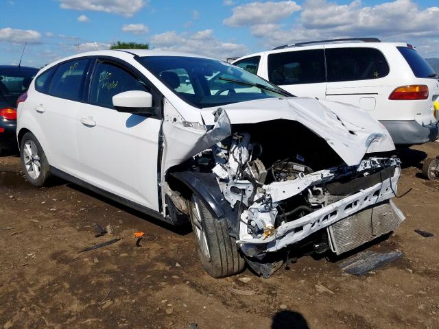 Ford Focus SE salvage cars for sale: 2018 Ford Focus SE