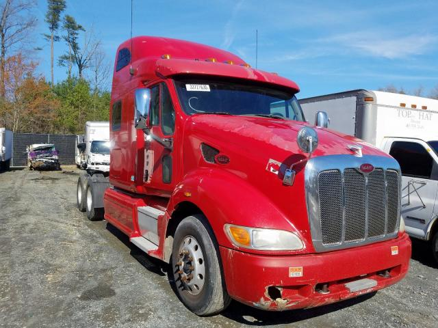 Peterbilt 387 salvage cars for sale: 2010 Peterbilt 387