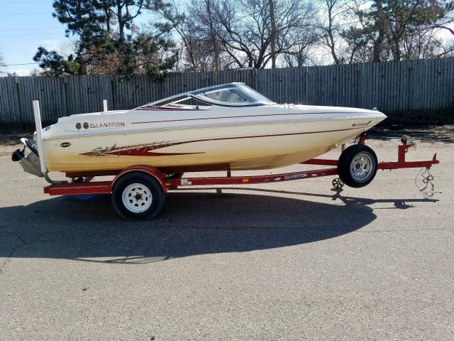 Glastron salvage cars for sale: 2002 Glastron Boat