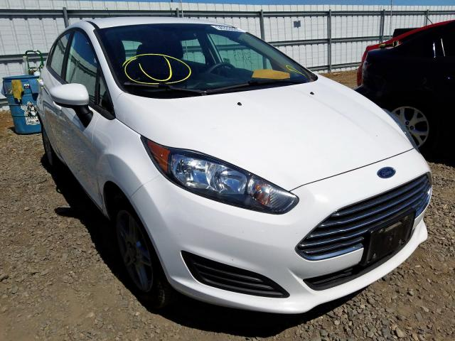 Ford Fiesta SE salvage cars for sale: 2018 Ford Fiesta SE