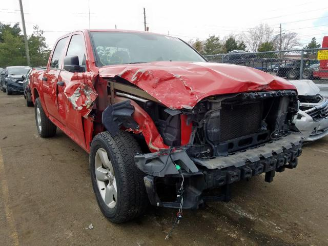 Dodge RAM 1500 ST salvage cars for sale: 2014 Dodge RAM 1500 ST