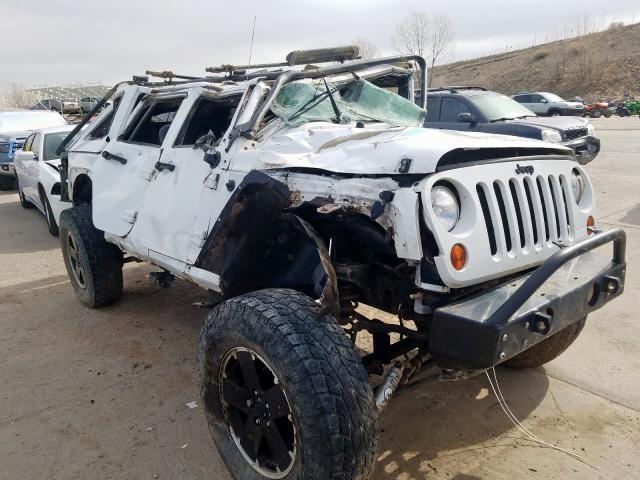 Jeep Wrangler U salvage cars for sale: 2012 Jeep Wrangler U