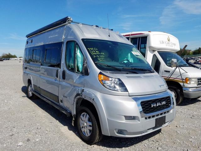 Salvage cars for sale from Copart Madisonville, TN: 2019 Dodge RAM Promaster