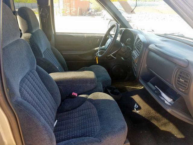 1999 CHEVROLET S TRUCK S1 - Left Rear View