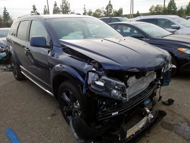 Dodge Journey CR salvage cars for sale: 2019 Dodge Journey CR