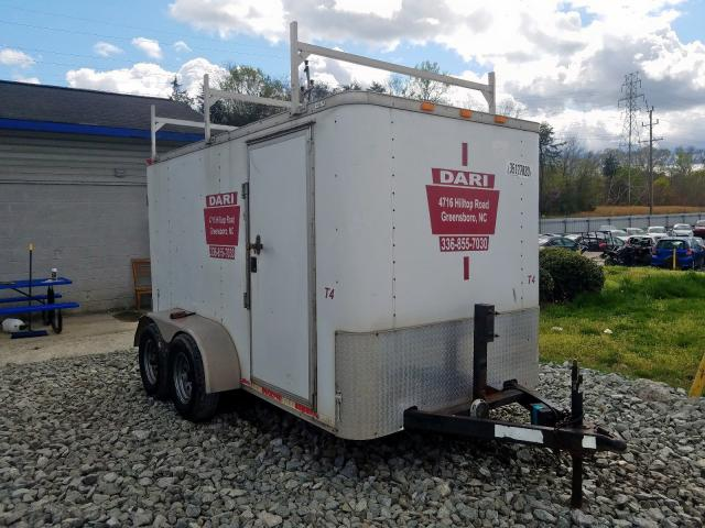 Trailers Trailer salvage cars for sale: 2010 Trailers Trailer