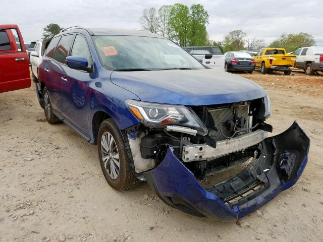 Vehiculos salvage en venta de Copart China Grove, NC: 2019 Nissan Pathfinder
