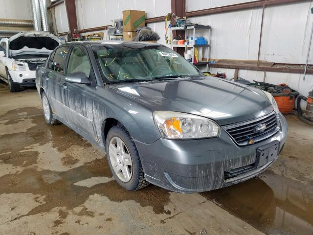 Chevrolet salvage cars for sale: 2006 Chevrolet Malibu LT