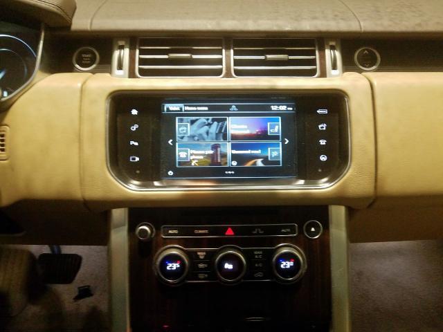 2016 Land Rover RANGE | Vin: SALGS2VF8GA254649