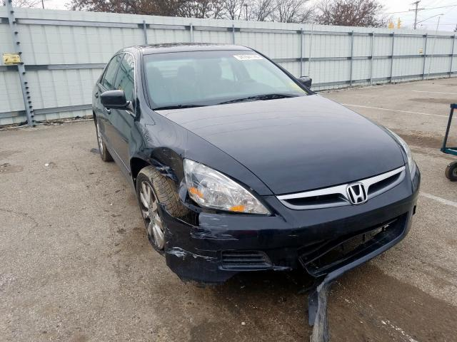 Salvage cars for sale from Copart Moraine, OH: 2007 Honda Accord EX