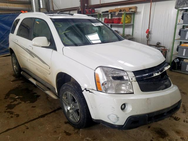 Chevrolet salvage cars for sale: 2008 Chevrolet Equinox LT