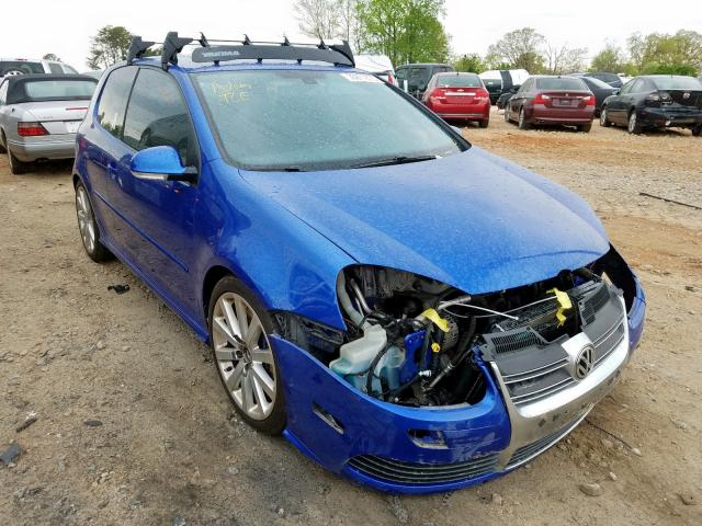 Volkswagen R32 salvage cars for sale: 2008 Volkswagen R32