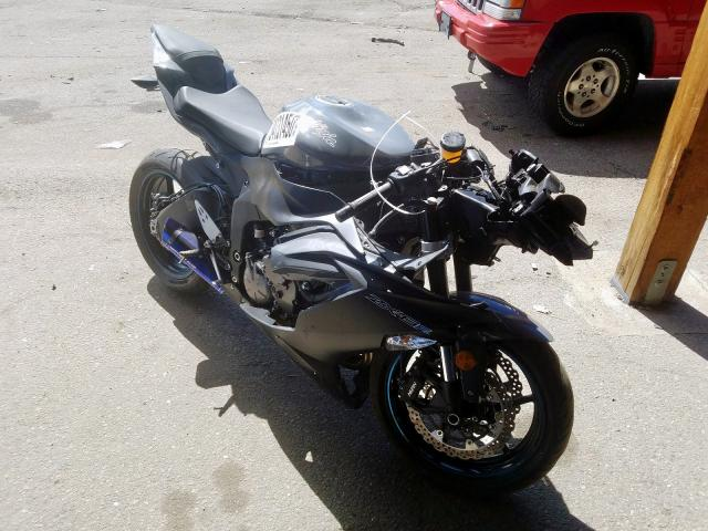 Kawasaki ZX636 K salvage cars for sale: 2019 Kawasaki ZX636 K