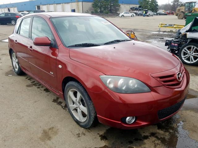 Mazda 3 Hatchbac salvage cars for sale: 2006 Mazda 3 Hatchbac