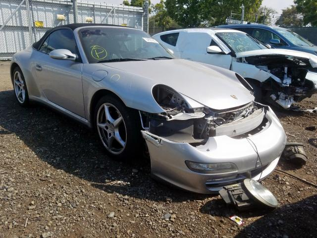 Porsche 911 New GE salvage cars for sale: 2006 Porsche 911 New GE