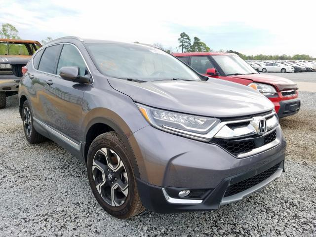 Honda CR-V Touring salvage cars for sale: 2018 Honda CR-V Touring