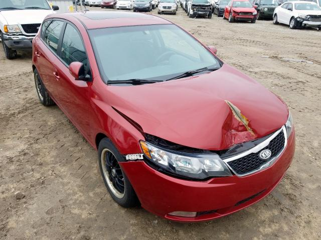 Salvage cars for sale from Copart Lansing, MI: 2011 KIA Forte SX