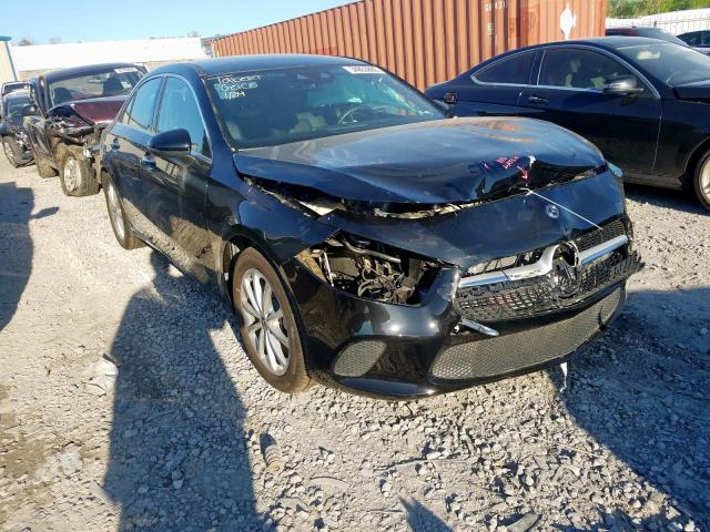 Mercedes-Benz salvage cars for sale: 2019 Mercedes-Benz A 220 4matic