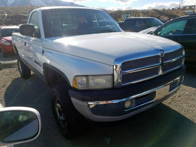 Salvage cars for sale from Copart Reno, NV: 2000 Dodge RAM 1500