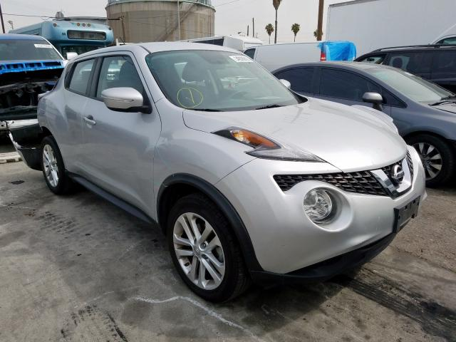 Salvage cars for sale from Copart Wilmington, CA: 2016 Nissan Juke S