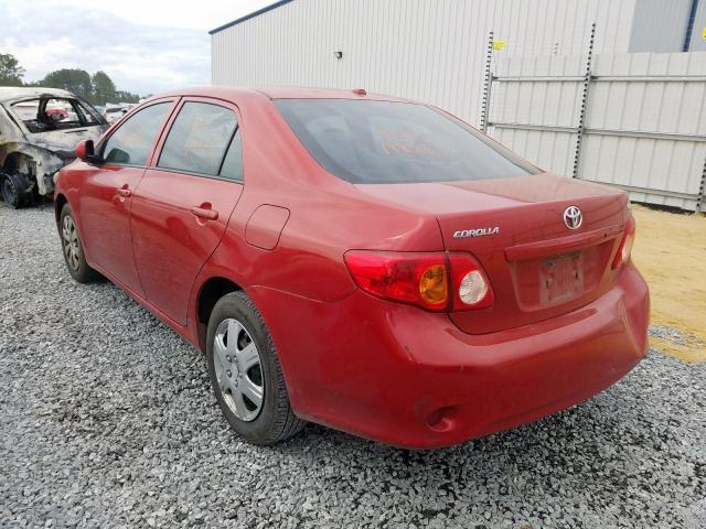 2010 TOYOTA COROLLA BA - Right Front View