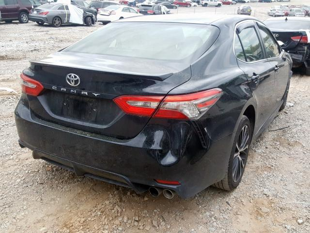 2018 TOYOTA CAMRY L - Right Rear View