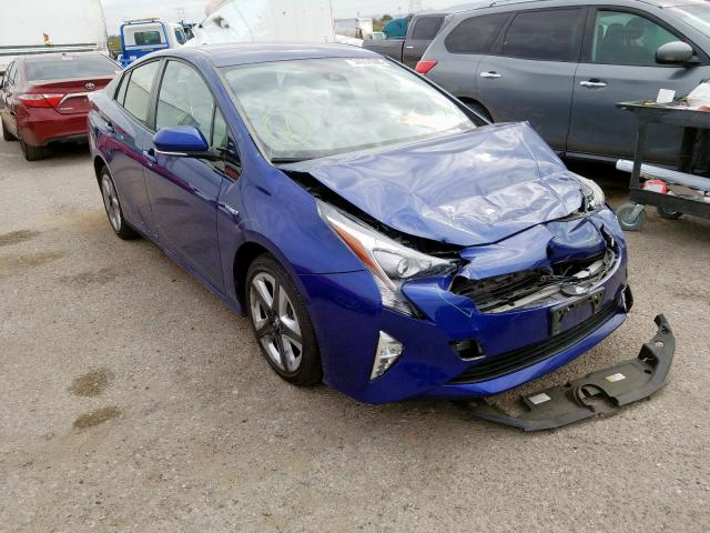 Toyota salvage cars for sale: 2016 Toyota Prius