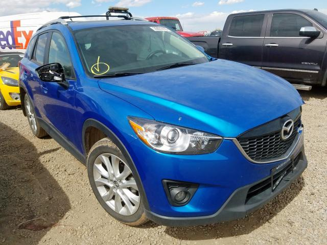 Mazda CX-5 GT salvage cars for sale: 2013 Mazda CX-5 GT