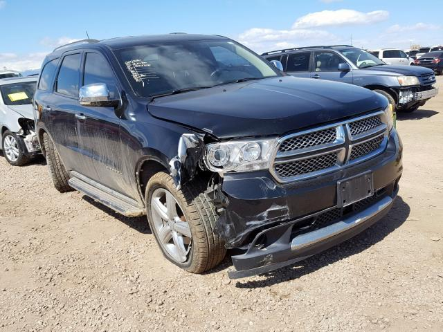 Vehiculos salvage en venta de Copart Brighton, CO: 2013 Dodge Durango CI