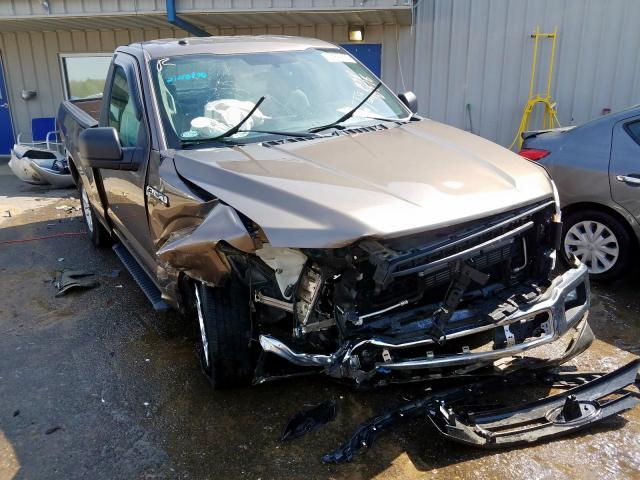 Salvage 2018 FORD F150 - Small image. Lot 34842650
