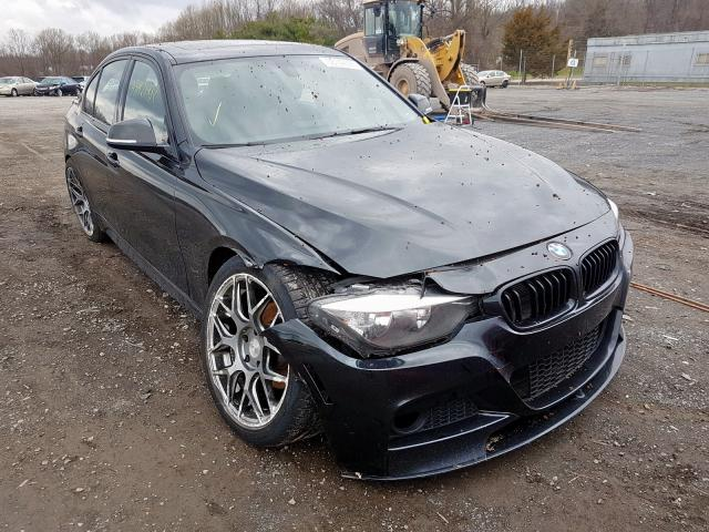 Salvage cars for sale from Copart York Haven, PA: 2014 BMW 328 D Xdrive