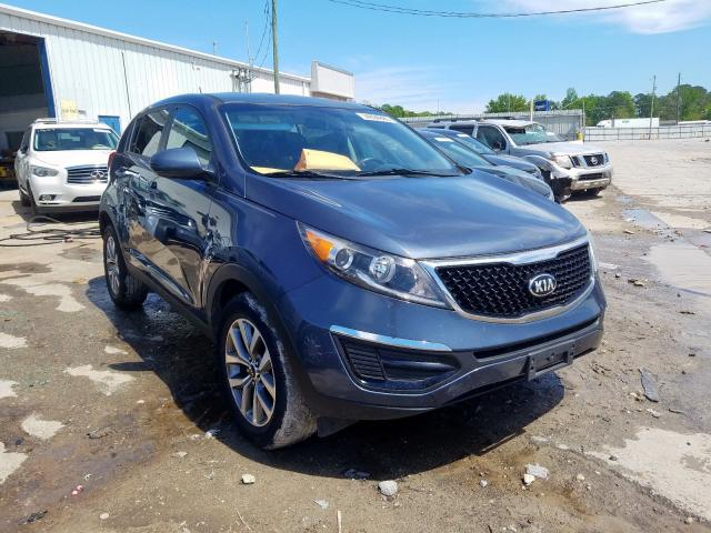 KIA Sportage L salvage cars for sale: 2015 KIA Sportage L