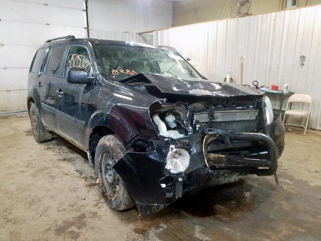 Salvage cars for sale from Copart Lyman, ME: 2015 Honda Pilot LX