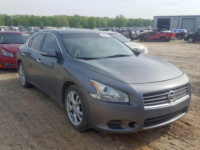 Salvage cars for sale at Conway, AR auction: 2014 Nissan Maxima S