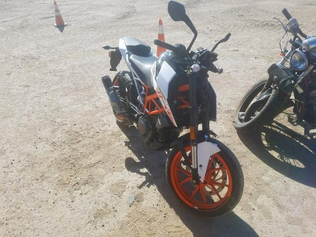 KTM Duke 390 salvage cars for sale: 2018 KTM Duke 390