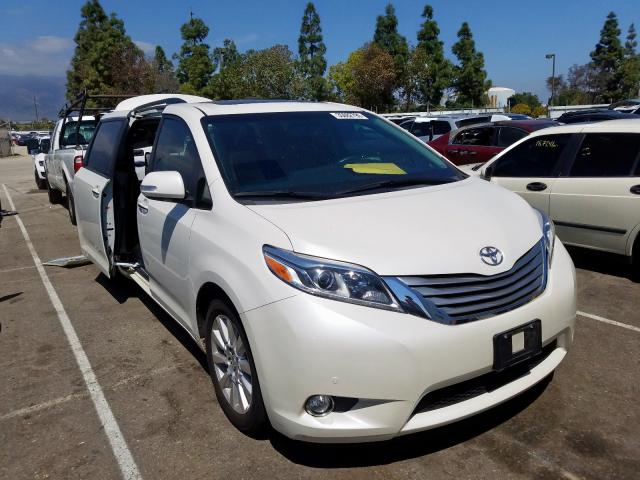 2017 toyota sienna xle for sale ca rancho cucamonga tue sep 29 2020 used salvage cars copart usa 2017 toyota sienna xle for sale ca