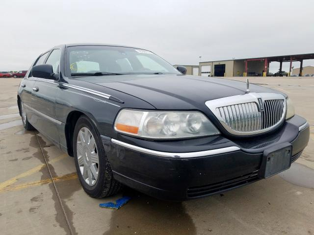 Salvage cars for sale from Copart Wilmer, TX: 2005 Lincoln Town Car S
