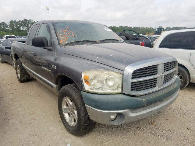 Salvage cars for sale from Copart Houston, TX: 2007 Dodge RAM 1500 S