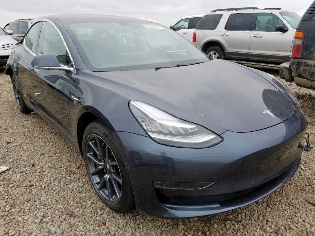 Salvage cars for sale from Copart Brighton, CO: 2018 Tesla Model 3