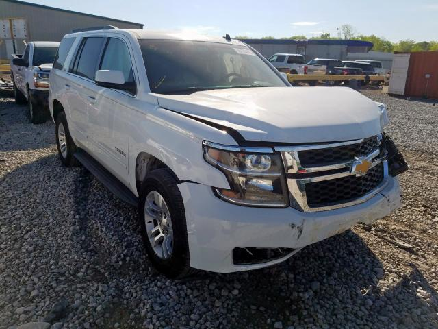 Chevrolet Tahoe C150 salvage cars for sale: 2015 Chevrolet Tahoe C150
