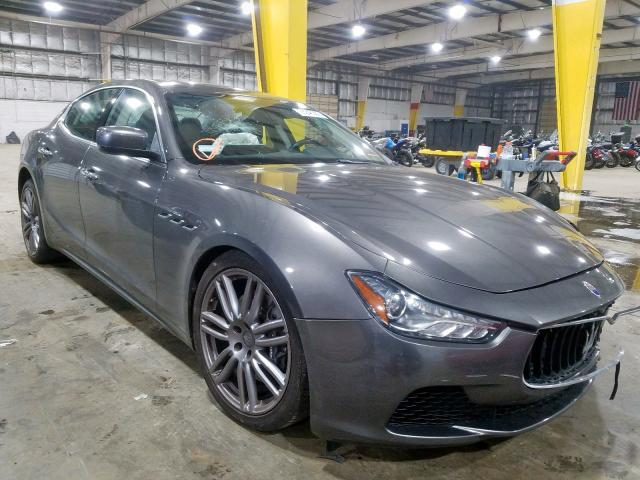 Maserati salvage cars for sale: 2015 Maserati Ghibli