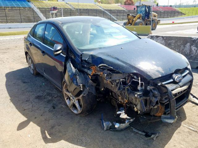 Ford Focus Titanium salvage cars for sale: 2012 Ford Focus Titanium