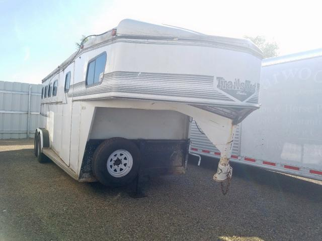 Trail King salvage cars for sale: 1995 Trail King Horse Trailer
