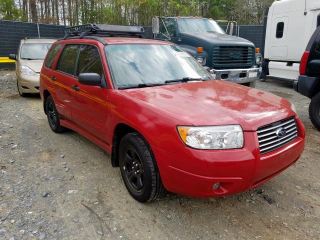 Salvage cars for sale from Copart Waldorf, MD: 2008 Subaru Forester 2