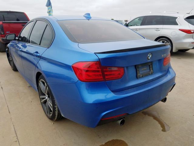 купить 2015 BMW 335 I WBA3A9G5XFNS66490