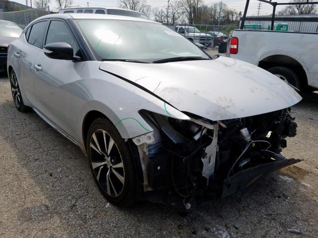 Salvage cars for sale from Copart Bridgeton, MO: 2018 Nissan Maxima 3.5