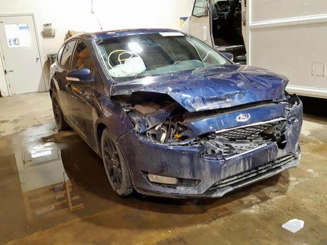 Ford salvage cars for sale: 2016 Ford Focus SE